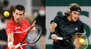 Featured image for 2020 French Open semifinal preview & prediction: Novak Djokovic vs Stefanos Tsitsipas