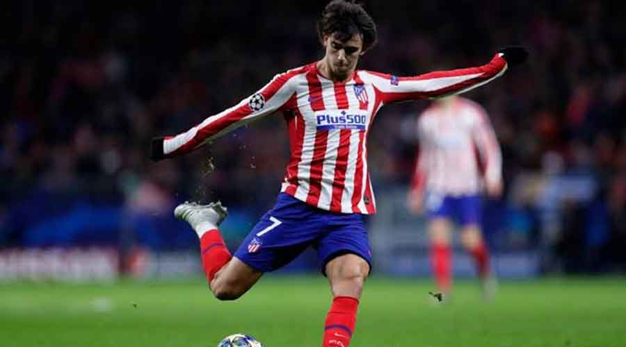 Atletico Madrid vs Barcelona: Picture of Atletico Madrid player