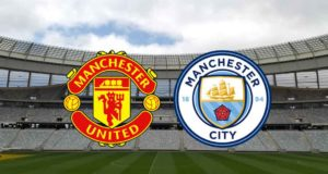 Featured image for Manchester United vs Manchester City predictions