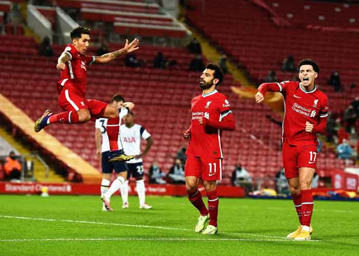 Leicester City vs Liverpool: Picture of Liverpool players