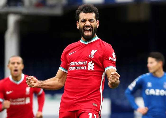 Liverpool vs Everton: Picture of Liverpool player