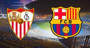 Featured image for Sevilla vs Barcelona predictions