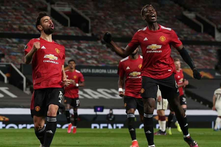 Manchester United vs Liverpool: Picture of Manchester United players
